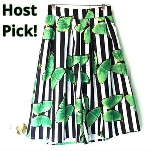 HOST PICK! Vintage Butterfly Culottes Gauchos